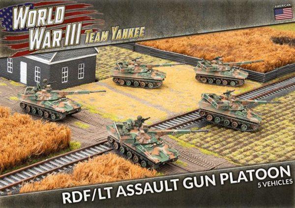 Battlefront Team Yankee  SALE! RDF/LT Assault Gun Platoon - TUBX20 - 9420020249127
