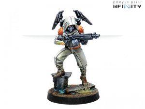 Corvus Belli Infinity  Non-Aligned Armies - NA2 Raoul Spector, Mercenary Operative (Boarding Shotgun) - 280735-0761 - 2807350007615