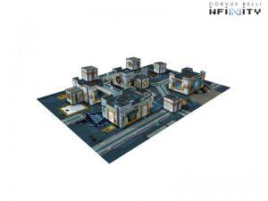 Corvus Belli Infinity  Infinity Essentials Daedalus Gate Scenery Pack - 285061 - 2850610000000