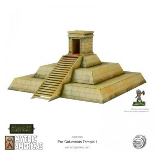 Warlord Games Warlord of Erehwon | Mythic Americas  Warlords of Erehwon Mythic Americas Pre-Columbian temple - 728819904 - -