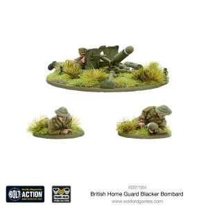 Warlord Games Bolt Action  Great Britain (BA) British blacker bombard (spigot mortar) - 403011004 - 5060393706687