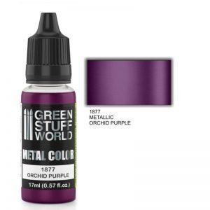 Green Stuff World   Acrylic Metallics Metallic Paint ORCHID PURPLE - 8436574502367ES - 8436574502367