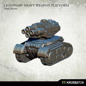 Kromlech   Legionary Model Kits Legionary Heavy Weapon Platform: Quad Mortar (1) - KRM114 - 5902216114432