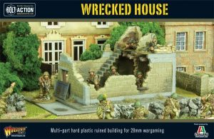 Warlord Games Bolt Action  Warlord Games Terrain Wrecked House - WG-TER-46 - 5060393700555