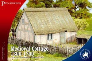 Warlord Games   Warlord Games Terrain Medieval Cottage 1300-1700 - RPB3 - RPB3
