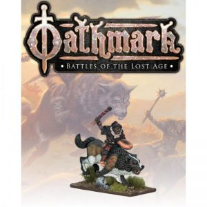 North Star Oathmark  Oathmark Goblin Wolf Rider Musician - OAK114 - oak114