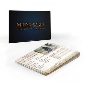 Games Workshop (Direct) Middle-earth Strategy Battle Game  Evil - Lord of the Rings Middle-earth Strategy Battle Game: Fallen Realms Profile Cards - 60221499014 - 5011921148370