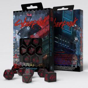 Q-Workshop   RPG / Polyhedral Cyberpunk Red RPG Dice Set (7) - SCPU06 - 5907699494972
