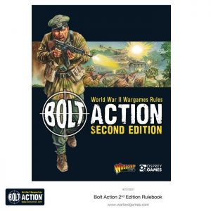 Warlord Games Bolt Action  Bolt Action Essentials Bolt Action 2nd Edition Rulebook - 401010001 - 978147284944