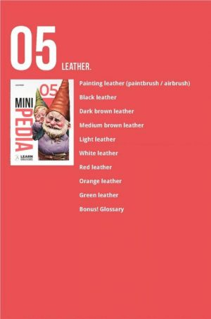 Scale75   Painting Guides Minipedia 05 - Leather - MiniPed05 -