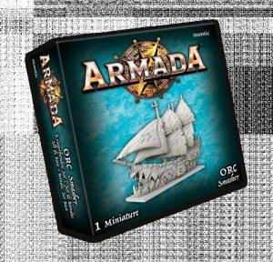 Mantic Kings of War Armada  Orcs Orc Smasher - MGARO201 - 5060469666556