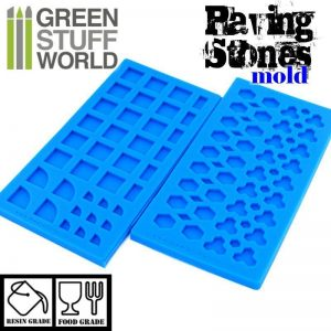 Green Stuff World   Mold Making Silicone molds - Paving stones - 8436554369072ES - 8436554369072