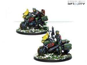 Corvus Belli Infinity  Ariadna Dynamo Reg. of Kazak Light Cavalry - 281106-0776 - 2811060007766