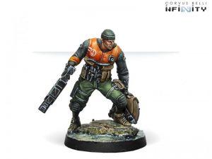 Corvus Belli Infinity  Ariadna Irmandinhos (Chain rifle) - 280194-0698 - 2801940006989