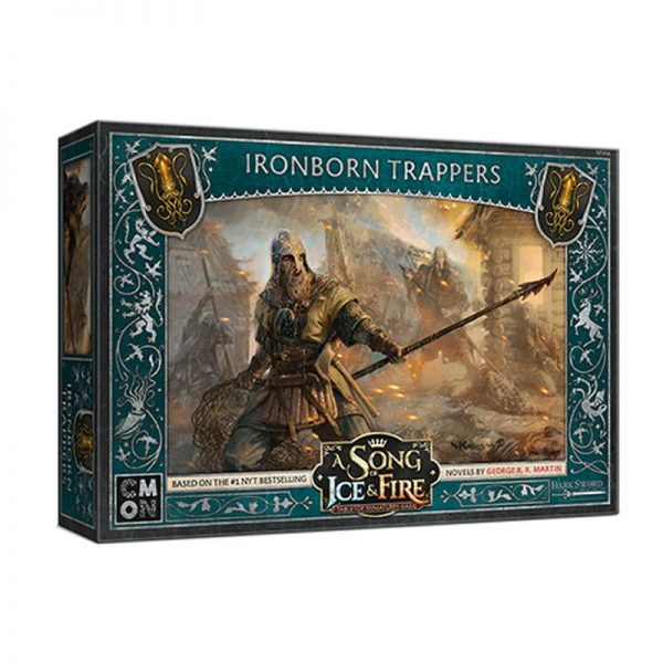 Cool Mini or Not A Song of Ice and Fire  House Greyjoy A Song of Ice and Fire: Greyjoy Ironborn Trappers - CMNSIF904 - 889696011022