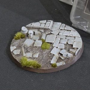 Gamers Grass   Battle-ready Temple Bases Temple Bases Round 100mm (x1) - GGB-TR100 -