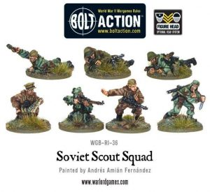 Warlord Games Bolt Action  Soviet Union (BA) Soviet Army Scouts - WGB-RI-36 - 5060200844908