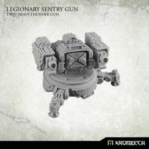 Kromlech   Legionary Model Kits Legionary Sentry Gun: Twin Heavy Thunder Gun (1) - KRM089 - 5902216113572