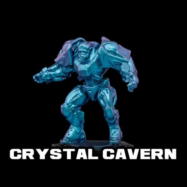 Turbo Dork   Turbo Dork Crystal Cavern Turboshift Acrylic Paint 20ml Bottle - TDCCVCSA20 - 631145994840