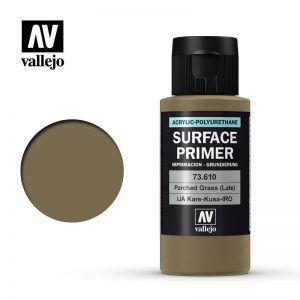 Vallejo   Model Air Primers AV Polyurethane - Primer Parched Grass (Late) 60ml - VAL73610 - 8429551736107