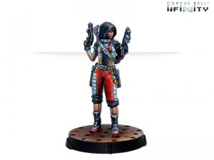 Corvus Belli Infinity  Nomads Mary Problems, Tactical ÜberHacker (Hacker) - 281504-0808 - 2815040008088