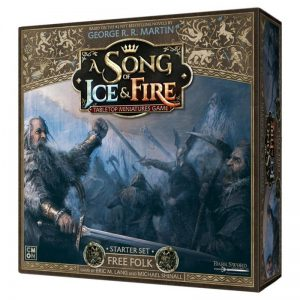 Cool Mini or Not A Song of Ice and Fire  Free Folk A Song of Ice and Fire: Free Folk Starter Set - CMNSIF003 - 889696005557