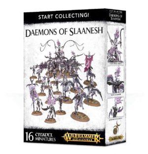 Games Workshop Warhammer 40,000 | Age of Sigmar  Chaos Daemons Start Collecting! Daemons of Slaanesh - 99129915040 - 5011921088201