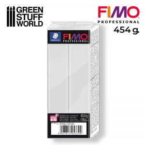 Green Stuff World   Modelling Putty & Green Stuff Fimo Professional 454gr - Dolphin Grey - 4007817053836ES - 4007817053836