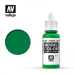 Vallejo   Model Colour Model Color: Light Green - VAL942 - 8429551709422