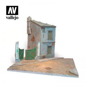 Vallejo   Vallejo Scenics Vallejo Scenics - Scenery: French Street - VALSC119 - 8429551987097