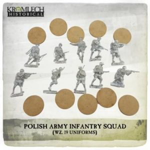 Kromlech   Kromlech Historical Polish Army Infantry Squad (wz. 19 uniforms) (10) - KHWW2002 - 5902216117587