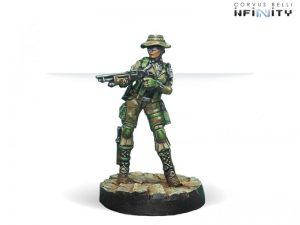 Corvus Belli Infinity  Ariadna Foxtrot Rangers (Boarding Shotgun) - 280182-0592 - 2801820005927