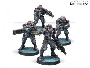 Corvus Belli Infinity  Combined Army Morat Vanguard Infantry - 280661-0468 - 2806610004685