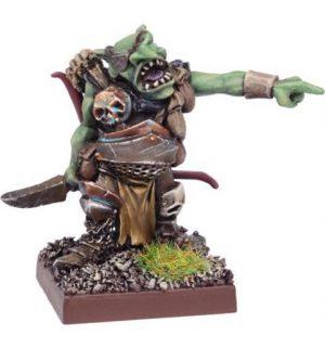 Mantic Kings of War  Ogres Red Goblin Biggit - MGKWH106 - 5060208868876