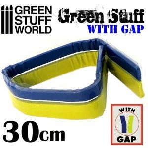 Green Stuff World   Modelling Putty & Green Stuff Green Stuff Tape 12 inches (with gap) - 8436574503623ES - 8436574503623