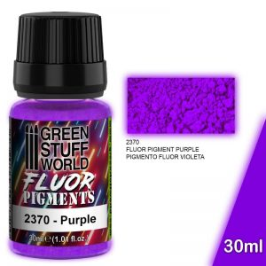 Green Stuff World   Fluorescent Pigments Pigment FLUOR PURPLE - 8436574507294ES - 8436574507294