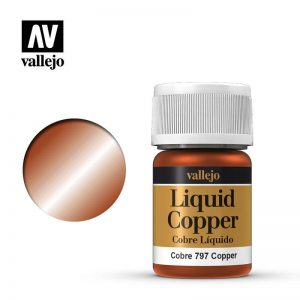 Vallejo   Liquid Gold Vallejo Liquid Copper - VAL797 - 8429551707978