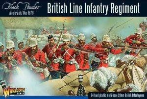 Warlord Games Black Powder  Anglo-Zulu War Anglo Zulu War British Line Infantry Regiment - 302014601 - 5060393706496