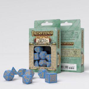 Q-Workshop   RPG / Polyhedral Pathfinder Ruins of Azlant Dice Set (7) - SPAT89 - 5907699493555