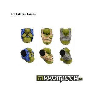 Kromlech   Orc Conversion Parts Orc Fatties Torsos (6) - KRCB057 - 5902216110557