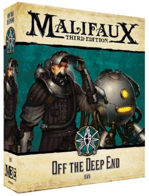 Wyrd Malifaux  The Explorer's Society Explorer's Society Off the Deep End - WYR23824 -