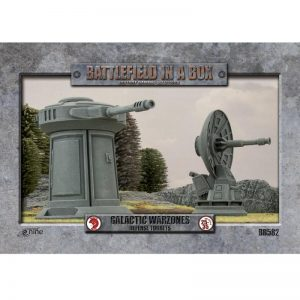 Gale Force Nine   Battlefield in a Box Galactic Warzones: Defense Turrets - BB582 - 9420020241169