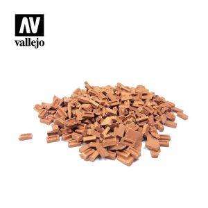 Vallejo   Vallejo Scenics Vallejo Scenics - 1:35 Coloured Bricks - VALSC232 - 8429551984997