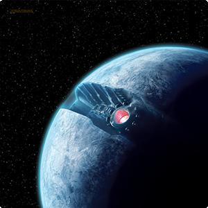 Fantasy Flight Games   X-Wing Essentials Star Wars X-Wing: Starkiller Base Game Mat - FFGSWS36 - 841333102197