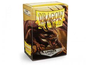 Dragon Shield   Dragon Shield Dragon Shield Sleeves Matte Umber (100) - DS100MU - 5706569110116