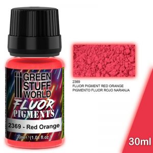Green Stuff World   Fluorescent Pigments Pigment FLUOR RED - 8436574507287ES - 8436574507287