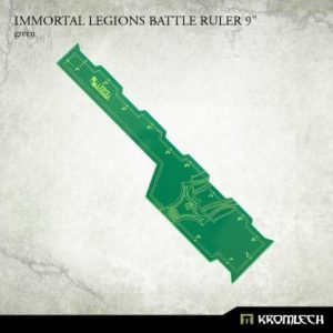 Kromlech   Tapes & Measuring Sticks Immortal Legions Battle Ruler 9in [green] (1) - KRGA058 - 5902216116573