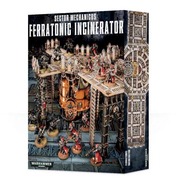 Games Workshop (Direct) Warhammer 40,000  40k Terrain Sector Mechanicus Ferratonic Incinerator - 99120199051 - 5011921082650