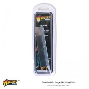 Warlord Games   Warlord Games Tools Saw Blade for Large Modelling Knife (42 TPI) - 843419911 - 5060572504097