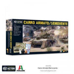 Warlord Games Bolt Action  Italy (BA) Italian Carro Armato / Semovente - 402018005 - 5060572506039
